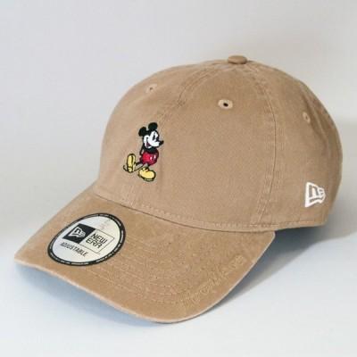 ニューエラ NewEra×Disney コラボ 帽子 930 9THIRTY クロスストラップ ディズニー ミッキーマウス カーキ