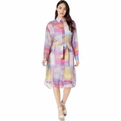 ポールスミス Paul Smith レディース ワンピース シャツワンピース ワンピース・ドレス PS Pastel Watercolor Shirtdress Multi