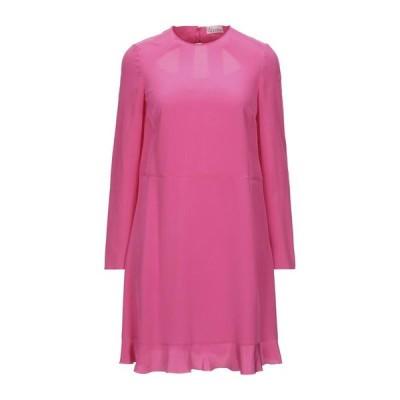 REDValentino シルクドレス ファッション  レディースファッション  ドレス、ブライダル  パーティドレス フューシャ