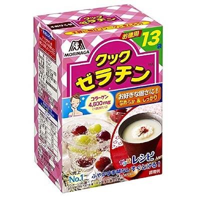 【送料無料】 森永製菓 クックゼラチン 13袋入り (5g13P)4箱