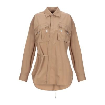 ディースクエアード DSQUARED2 シャツ キャメル 38 コットン 100% シャツ
