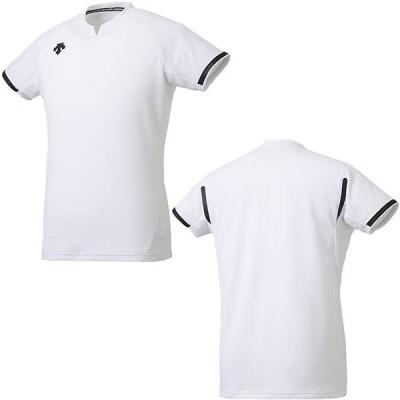 デサント(DESCENTE) DSS4024 WHT バレーボール 半袖ゲームシャツ 20SS