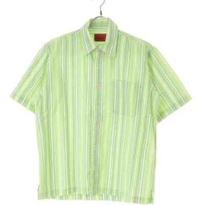 Mr.JUNKO / ミスタージュンコ ストライプ柄 半袖シャツ