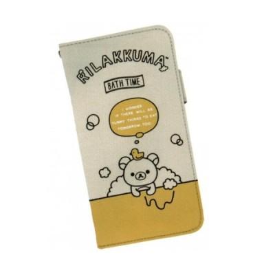 リラックマ カースマートフォンケース イエロー ★カジュアル★★カー用品★ 504205