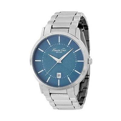 Kenneth Cole New York Round with Silver Link Strap Men's watch #KCW3015 並行輸入品