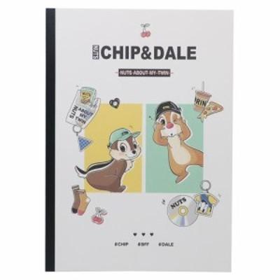 チップ&デール B5ノート 横罫 学習帳 小学生 入学準備 ディズニー キャラクター グッズ メール便可
