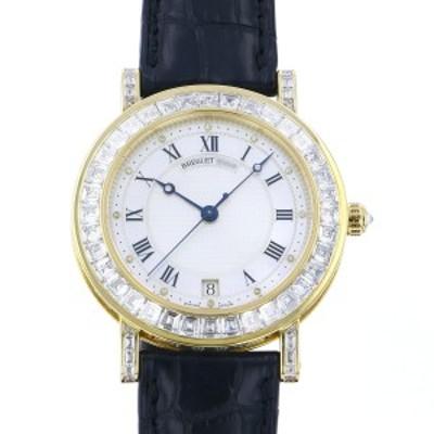 ブレゲ Breguet マリーン 3441BA/52196/DD00 ホワイト文字盤 中古 腕時計 メンズ