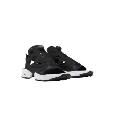 (Reebok/リーボック)リーボック/レディス/Instapump Fury サンダル[Instapump Fury Sandals]/レディース ブラック/ホワイト/シルバーメタリック
