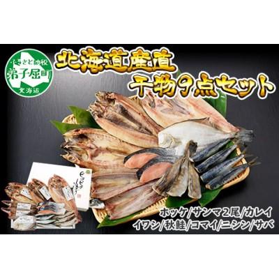 343.ふっくらやわらか 干物 9点セット 北海道 魚介 海鮮