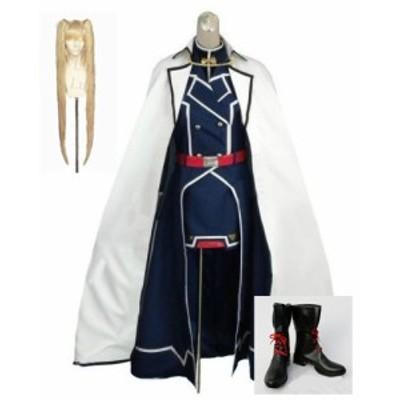 魔法少女リリカルなのは フェイト・テスタロッサ  風 コスプレ衣装+ウィッグ+靴 フルセット オーダーメイドも対応可能