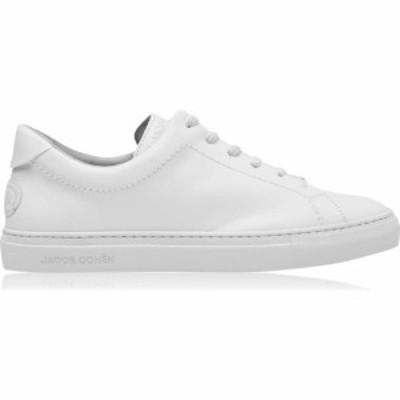 ヤコブ コーエン JACOB COHEN メンズ スニーカー シューズ・靴 Leather Sneakers White