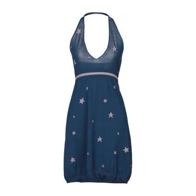 サンシックスティエイト SUN 68 ミニワンピース&ドレス ダークブルー L コットン 100% ミニワンピース&ドレス