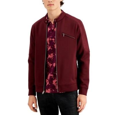 アイエヌシーインターナショナルコンセプト ジャケット&ブルゾン アウター メンズ INC Men's Wilson Moto Jacket, Created for Macy's Port