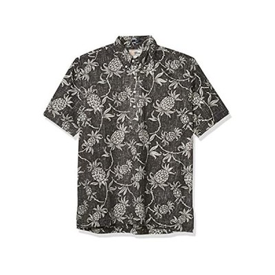 Reyn Spooner Men's M502912620, Aloha Welcome - Black Onyx, XL