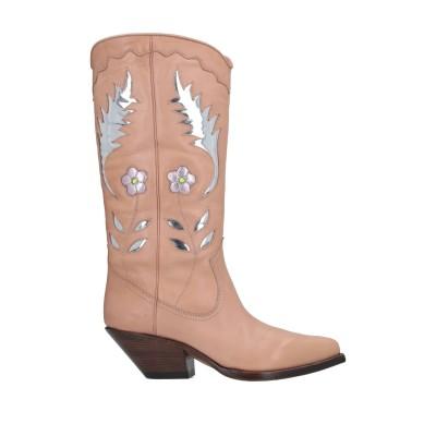 ブッテロ BUTTERO® ブーツ ローズピンク 37 柔らかめの牛革 ブーツ