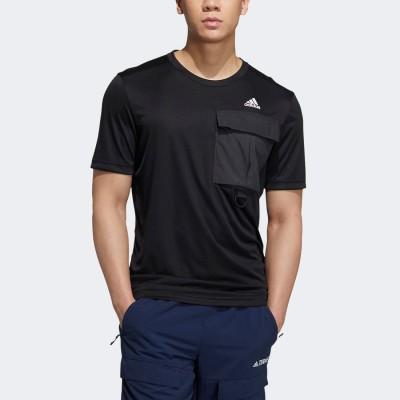 アディダス adidas ユーティリタス Tシャツ (ブラック)