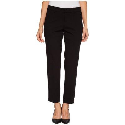 リバプール カジュアルパンツ ボトムス レディース Petite Kelsey Straight Leg Trousers in Super Stretch Ponte Knit Black