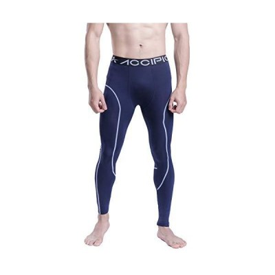 ACCIPIO Compression Pants for Men Base Layer Workout Running Active Cool Dr