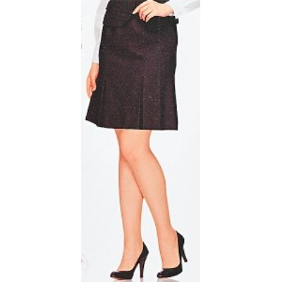 FS4569-2 マーメイドプリーツスカート(9号:54cm丈) 全1色 (フォーク FOLK ヌーヴォ NUOVO 事務服 制服)