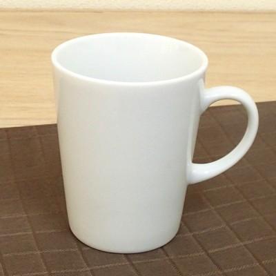 マグカップ 白 三角 業務用 陶器 美濃焼 9b475-12