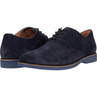 クラークス Clarks メンズ シューズ・靴 Atticus Lace Navy Suede
