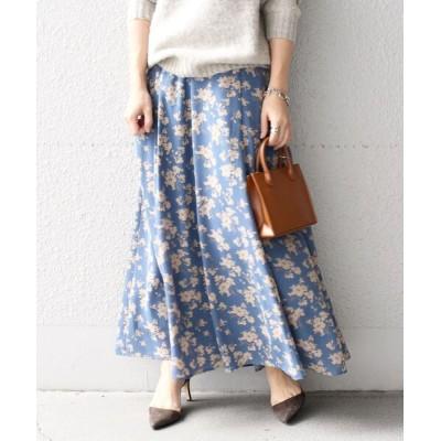 SHIPS for women / 【先行】【WEB限定】マルチプリントフレアスカート2◆ WOMEN スカート > スカート