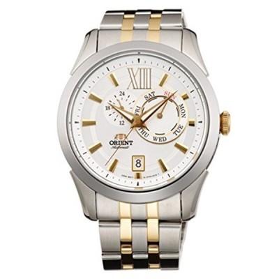 オリエント Orient 腕時計 時計 ORIENT Sporty Automatic Multi-hands Day & Date 2 Tone Gold Watch ET0X002W