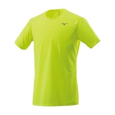 ミズノ  ミズノ ランニングTシャツ[メンズ] セーフティーイエロー(j2ma852031)  スポーツ用品 取り寄せ