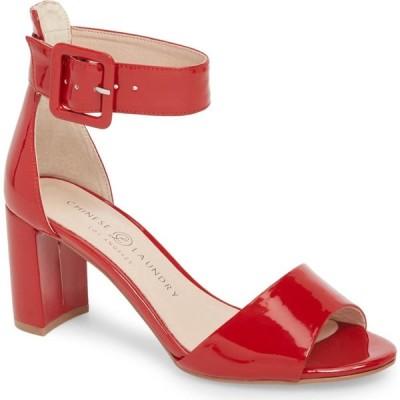 チャイニーズランドリー CHINESE LAUNDRY レディース サンダル・ミュール シューズ・靴 Rumor Sandal Red