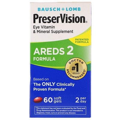 PreserVision、AREDS 2調剤、60ソフトジェル90個