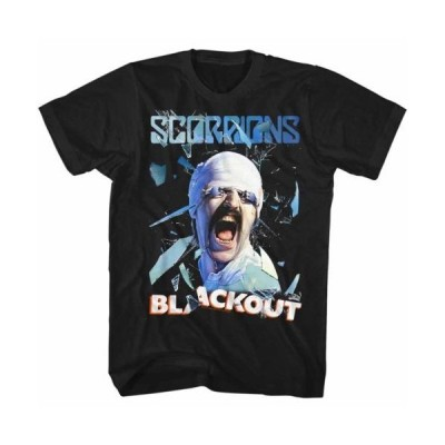 Tシャツ スコーピオンズ Scorpions Blackout Licensed Adult T Shirt