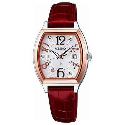 [ルキア]LUKIA 腕時計 LUKIA トノー電波 SSVW094 レディース