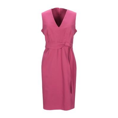 BIANCOGHIACCIO ミニワンピース&ドレス ガーネット 42 コットン 98% / ポリウレタン 2% ミニワンピース&ドレス