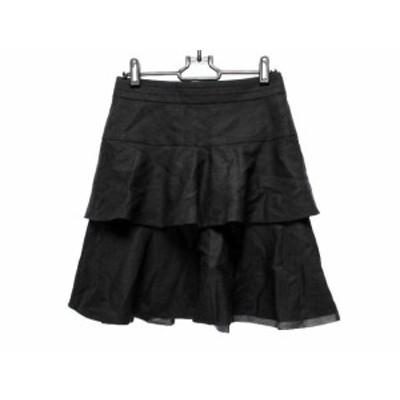 ボディドレッシングデラックス BODY DRESSING Deluxe スカート サイズ38 M レディース 黒【中古】20190711
