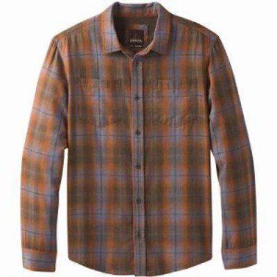 プラーナ シャツ Holton Plaid L/S Shirt Scorched Brown