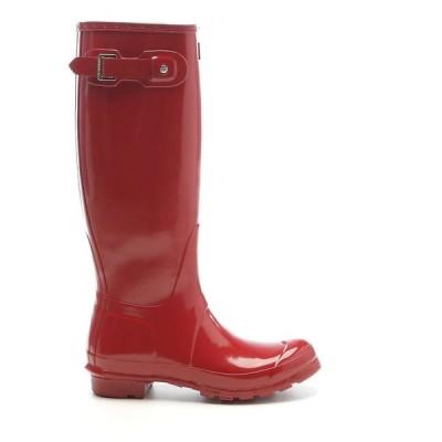 ハンター Hunter レディース レインシューズ・長靴 シューズ・靴 original tall gloss boot Military Red