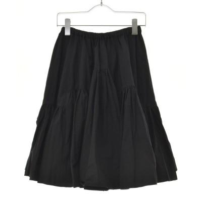 me couture / ミークチュール タイプライターボリューム スカート