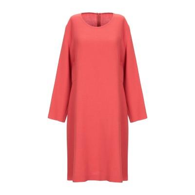 ANTONELLI ミニワンピース&ドレス レンガ 42 バージンウール 100% ミニワンピース&ドレス