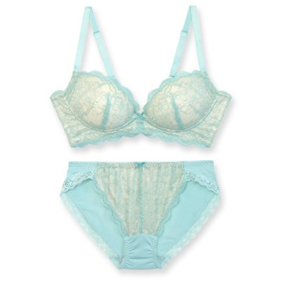 fran de lingerie / Style Up Wireless スタイルアップワイヤレス ブラ&ショーツセット B65-G80カップ WOMEN アンダーウェア > ブラ&ショーツ