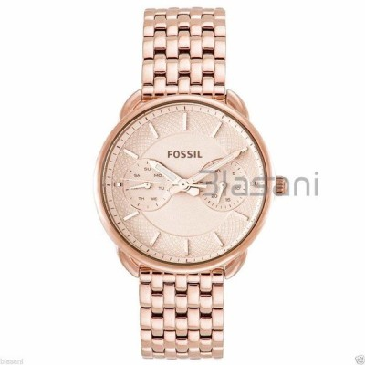 腕時計 フォッシル Fossil Original ES3713 Women's Tailor Rose Gold Stainless Steel Watch 34mm