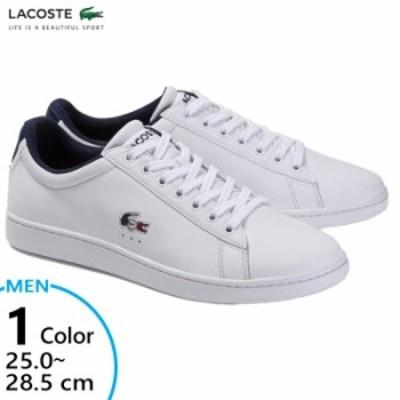 【送料無料】 ラコステ LACOSTE メンズ カーナビーエヴォ エボ CARNABY EVO TRI 1 スニーカー シューズ 紐靴 SMA033L