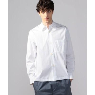 シャツ ブラウス コットンブロード オーバーサイズシャツ