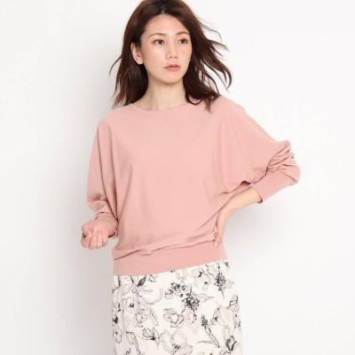 クードシャンス COUP DE CHANCE 【洗える】ハイゲージドルマンニット (ピンク)