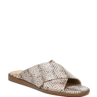 サムエデルマン レディース サンダル シューズ Idina Snake Printed Leather Sandals