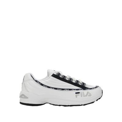 FILA HERITAGE スニーカー&テニスシューズ(ローカット) ホワイト 8 革 / 紡績繊維 スニーカー&テニスシューズ(ローカット)