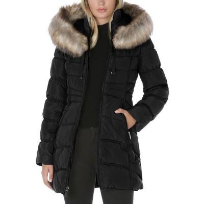 ランドリーバイシェリーシーガル レディース ジャケット・ブルゾン アウター Hooded Faux Fur Trim Puffer Coat