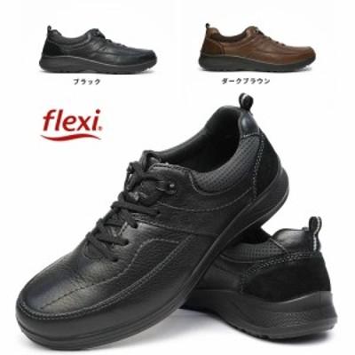 フレキシィ 靴 メンズ 50806 レザー カジュアル シューズ インポート flexi IMFX50806