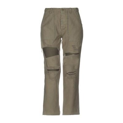 アール・サーティーン R13 パンツ ミリタリーグリーン 24 コットン 100% パンツ