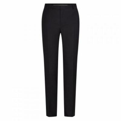 カルバンクライン Calvin Klein メンズ スラックス ボトムス・パンツ Speckled Wool Trousers Black