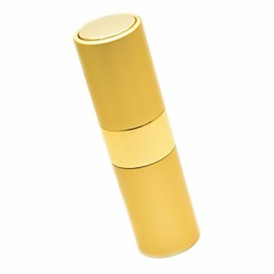 【送料無料】Geminass 香水 携帯用 アトマイザー プッシュ式 ボトル オシャレ メンズ レディース 15ml (ゴールド)